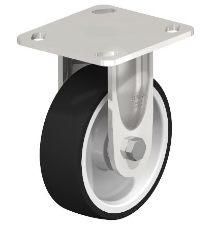 "Blickle 5"" Rigid Casters 330 lbs Capacity from Easy Casters"