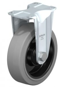 "Blickle 5"" Rigid Casters with 660 lbs capacity from Easy Casters"