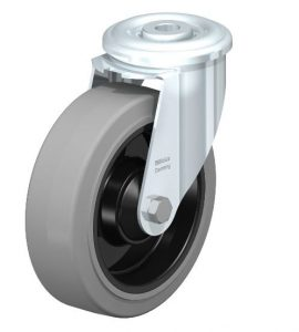 """Blickle 5"""" Swivel Caster 660 Lbs Capacity from Easy Casters"""
