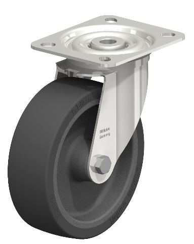 """Shop Blickle 5"""" swivel casters with 2000 lb load capacity with Easy Casters"""