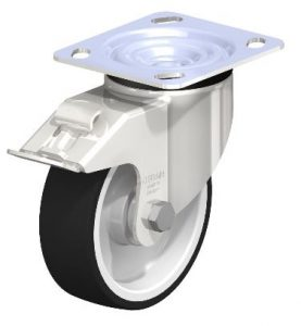 """Shop Blickle 5"""" swivel casters with 1650 lb load capacity with Easy Casters"""
