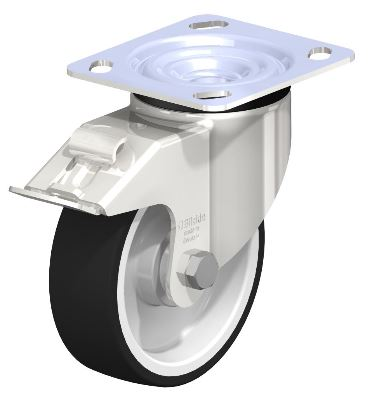 "Shop Blickle 5"" swivel casters with 1650 lb load capacity with Easy Casters"