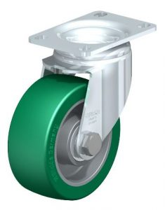 "Blickle 4"" Swivel Casters with 550 lbs capacity from Easy Casters"