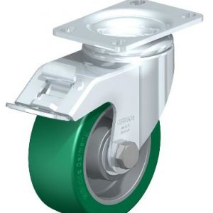 "Blickle 4"" Brake Swivel Casters with 550 lbs capacity from Easy Casters"
