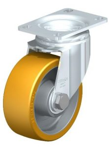 "Blickle 4"" Swivel Casters with 615 lbs capacity from Easy Casters"